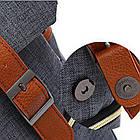 Рюкзак для ноутбука Fashion 18 л голубой 50329, фото 5