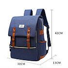 Рюкзак для ноутбука Fashion 18 л голубой 50329, фото 6