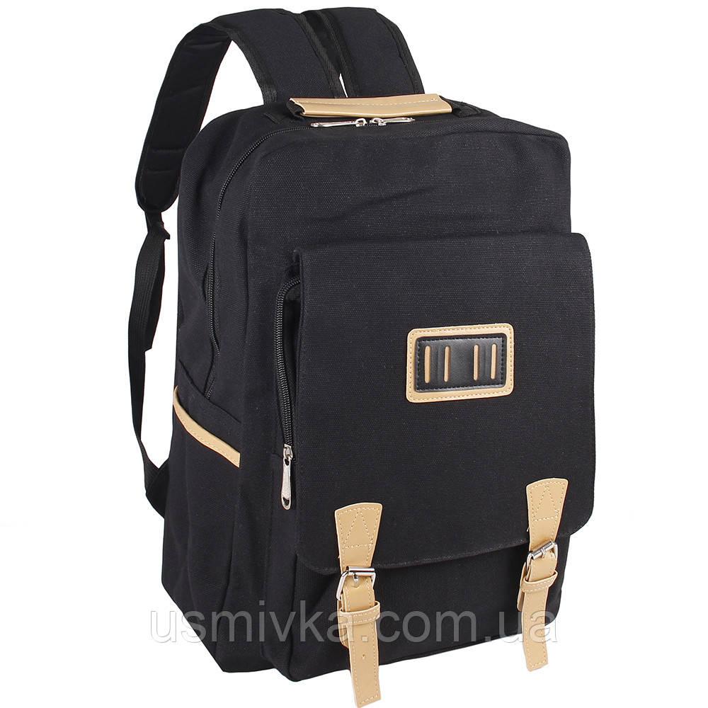 Рюкзак Fashion повседневный 18л черный 50334