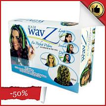 Волшебные бигуди для волос любой длины Hair Wavz, бигуди-спиральки, фото 2