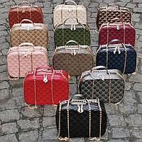 Красивая женская сумочка на цепочке прямоугольная