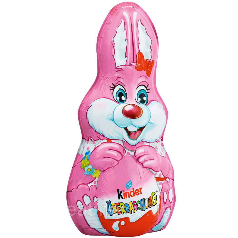 Шоколадный зайчик Kinder с киндер-сюрприз внутри