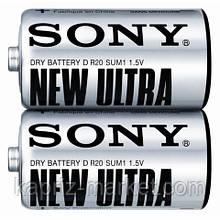 Батарейка Sony R20, D (2/24/120)