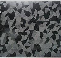 Пленка с эффектом 4d черная битое стекло с микроканалами