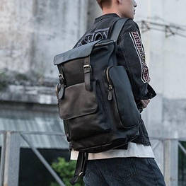 Мужской  рюкзак (натуральная кожа) Модель DM-25
