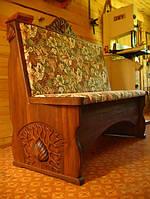Кухонный диванчик из массива дерева., фото 1