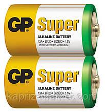 Батарейки GP Alkaline LR20, D, 20/120