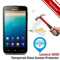Защитное стекло TG Premium Tempered Glass 0.26mm (2.5D) для Lenovo S650
