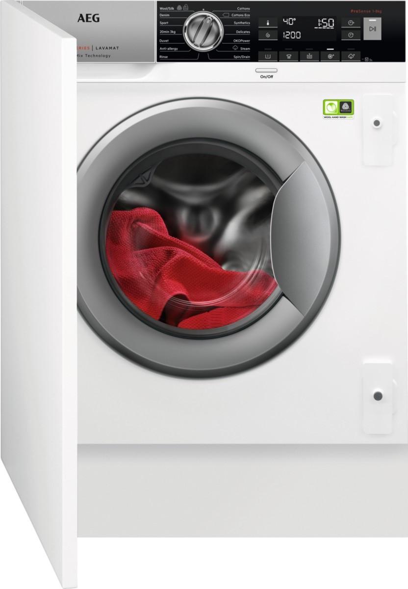 Вбудована пральна машина AEG L8FBE48SI [8кг]