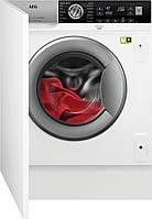Вбудована пральна машина AEG L8FBE48SI [8кг], фото 1