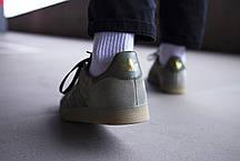 Мужские кроссовки Adidas Gazelle Green ( Реплика ), фото 2