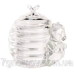Медовница, сахарница стеклянная Horeca Bailey Jar for honey 200 мл арт. 16449-2
