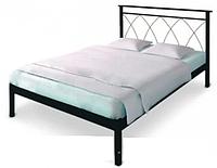 Кровать металлическая Диана -1 (Diana-1) ТМ Метакам без изножья, полуторная, двуспальная
