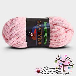 Плюшевая пряжа Himalaya Бурса big (сток), св. розовый