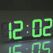 Настольные и настенные Часы LED с датчиком света, температуры и будильником