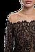 Красивый женский боди Suavite 27292 гипюр, фото 4