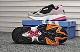 Стильные женские кроссовки Adidas Falcon Black/Grey/Pink, фото 5