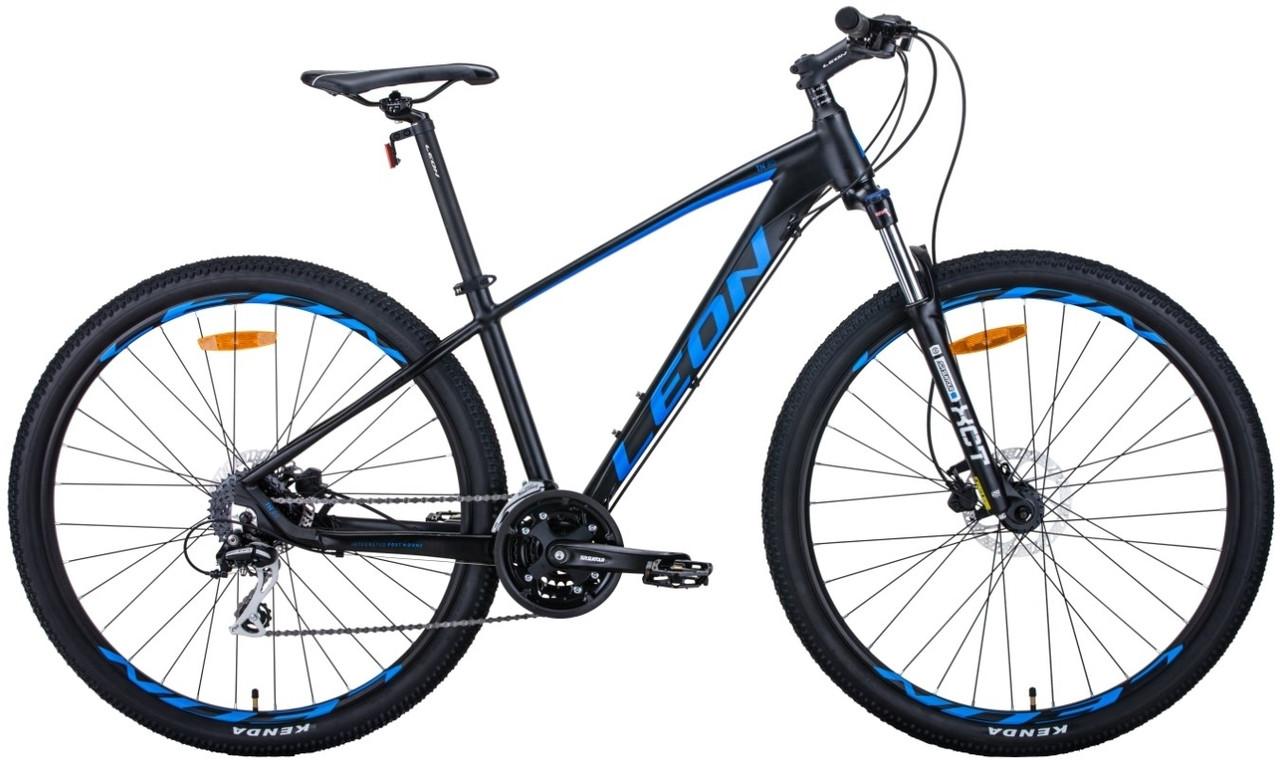 """Горный велосипед 29"""" Leon TN-80 2020 (черно-синий (м))"""