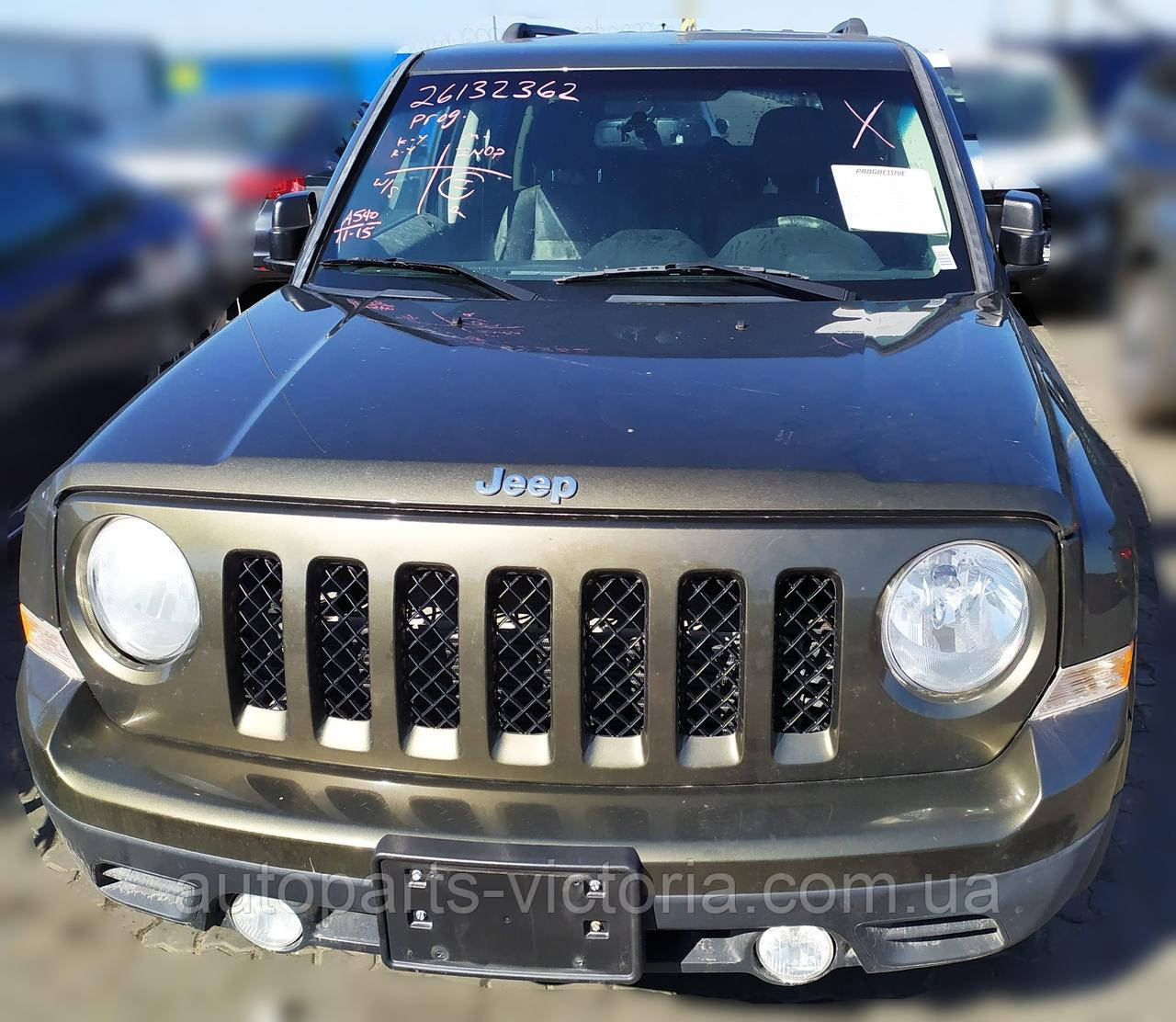 Розбираємо Jeep Patriot Latitude 2015 Red 2.4L США