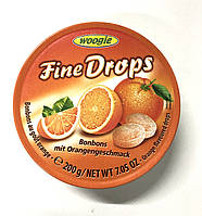 Леденцы Woogie Fine Drops (апельсин) - 200 г