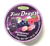 Леденцы Woogie Fine Drops (лесная ягода) - 200 г