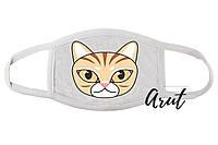 Стильна маска Котик