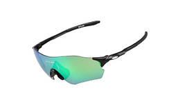 Очки велосипедные с зеленой линзой GUB 5100 черный
