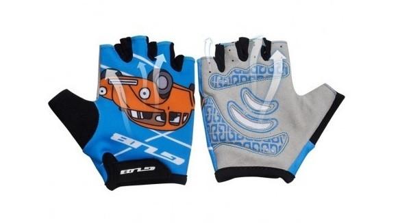 Перчатки велосипедные детские GUB S022 голубой