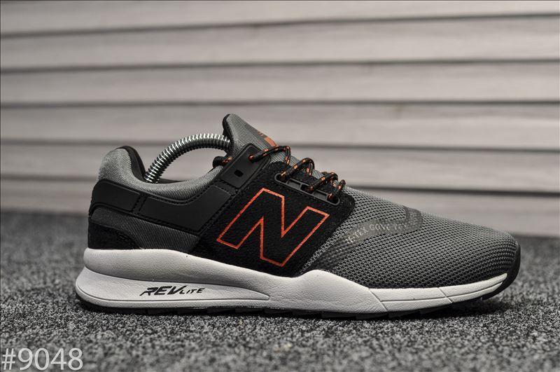 Мужские кроссовки New Balance 247 Gray Black