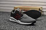 Чоловічі кросівки New Balance 247 Gray Black, фото 5
