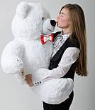 Плюшевий ведмедик Mister Medved Білий 130 см, фото 5