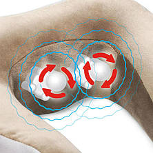 Подушка массажная U-Shaped Massage Pillow, фото 3