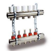 Коллекторная группа с расходомерами и термо клапанами KG,R,T4