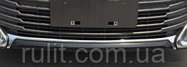 Toyota Camry V55 хром накладка на передний бампер верхняя