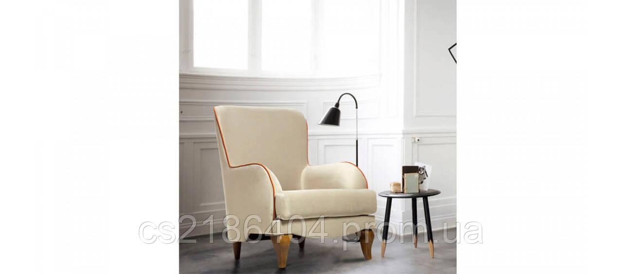 Класичне крісло  на древ'яних ніжках MAX