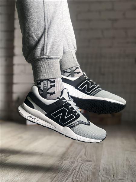 Чоловічі кросівки New Balance 247 Gray Black