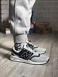 Чоловічі кросівки New Balance 247 Gray Black, фото 2