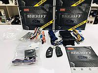 ОРИГИНАЛ! ГАРАНТИЯ - ГОД, Качественная Автомобильная Односторонняя Сигнализация Sheriff