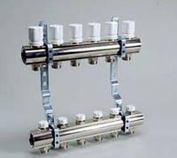 Коллекторная группа с расходомерами и термо клапанами KG,OT,T 7
