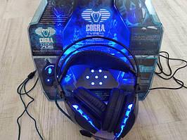 Наушники гарнитура E-Blue Cobra type II HS705 advanced led headset black РАСПРОДАЖА