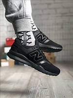Мужские кроссовки New Balance 247 Gray Black, фото 1
