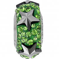 Шармы Пандора от Swarovski Elements 81702 Dark Moss Green (упаковка 12 шт)