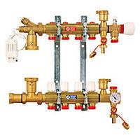 """Сборный узел для систем напольного отопления 1"""" X18 /9 (Giacomini)"""