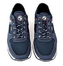 Кросівки літні чоловічі сині кроссовки 40, 44 розмір, фото 2