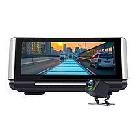 Видеорегистратор DVR K6 на торпеду -3 в 1 Android - Регистратор, GPS навигатор, камера заднего вида, фото 1