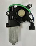 Моторедуктор стеклоподъёмника DAEWOO LANOS левый LSA LA 96190207-30Т (шестеренка), фото 2