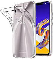 Чехол силиконовый прозрачный для Asus Zenfone 5, 0.5mm