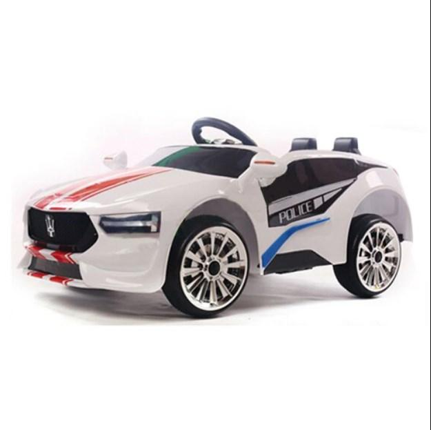 Электромобиль Maserati T-7624 WHITE легковая на Bluetooth