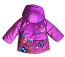 Детская демисезонная куртка для девочки Весна на рост 80- 98 см, фото 3