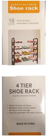 Полка для обуви WM-66 Shoe Rack- Новинка, фото 2